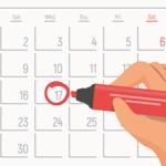 車庫証明カレンダー